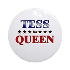 TESS for queen Ornament (Round)