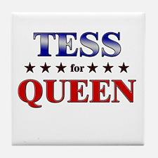 TESS for queen Tile Coaster