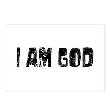 I am God Postcards (Package of 8)