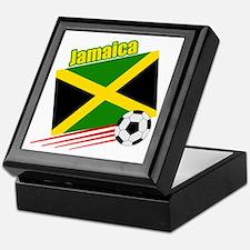 Jamaica Soccer Team Keepsake Box