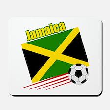 Jamaica Soccer Team Mousepad