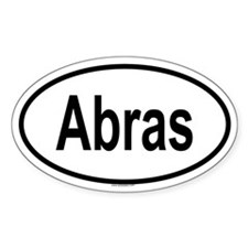 ABRAS Oval Decal