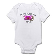 Call Mimi with Pink Phone Infant Bodysuit