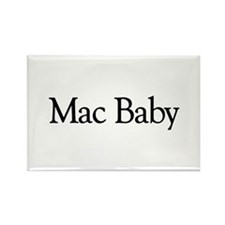 Mac Baby Rectangle Magnet (100 pack)