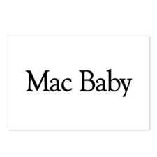 Mac Baby Postcards (Package of 8)