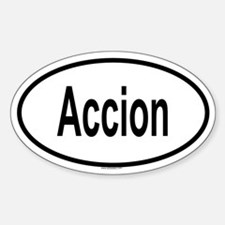 ACCION Oval Decal