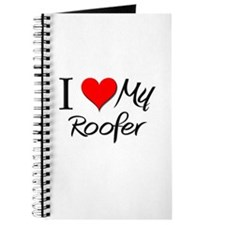 I Heart My Roofer Journal