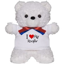 I Heart My Roofer Teddy Bear
