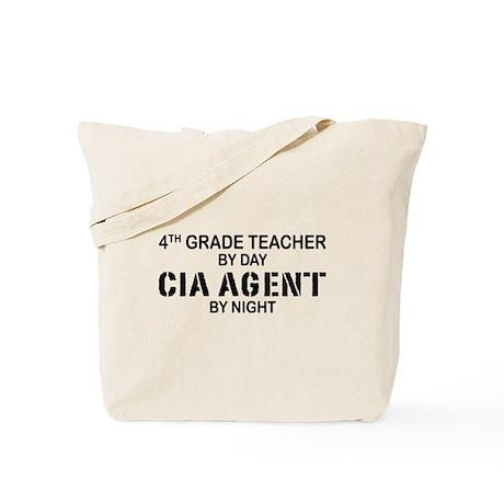 4th Grade Teacher CIA Tote Bag