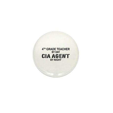 4th Grade Teacher CIA Mini Button