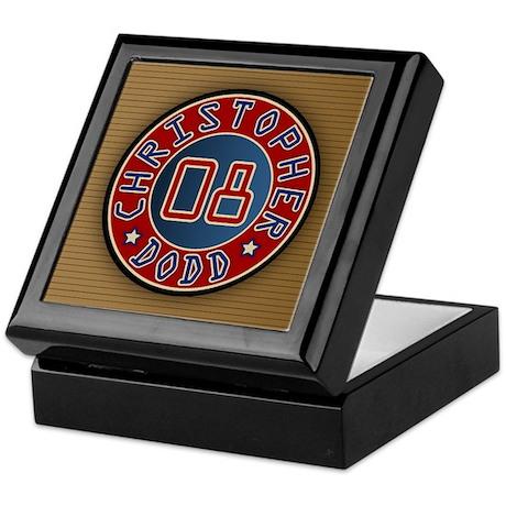 Christopher Dodd President 2008 Keepsake Box