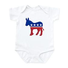 Democrat Donkey Infant Bodysuit
