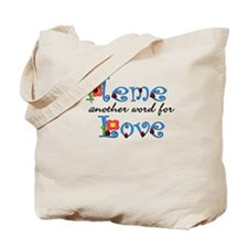 Meme Love Tote Bag