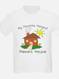 Favorite Hangout Meme's House T-Shirt