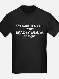 5th Grade Teacher Deadly Ninja T
