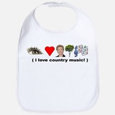 Unique Country music Bib