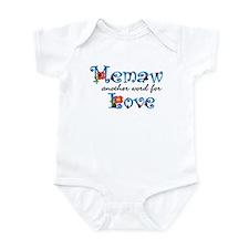 Memaw Love  Infant Bodysuit