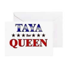 TAYA for queen Greeting Card