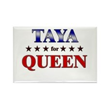 TAYA for queen Rectangle Magnet