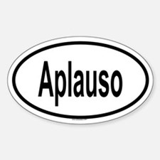 APLAUSO Oval Decal