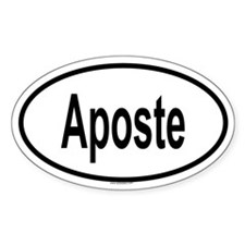 APOSTE Oval Decal