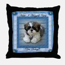Have I Hugged You Yet? Throw Pillow