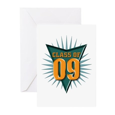 class of 09 Greeting Cards (Pk of 10)