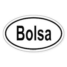BOLSA Oval Decal