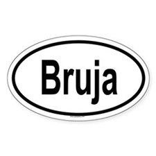 BRUJA Oval Decal