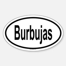 BURBUJAS Oval Decal