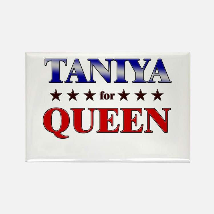 TANIYA for queen Rectangle Magnet