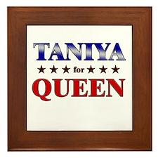 TANIYA for queen Framed Tile