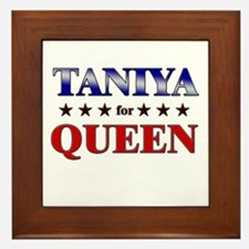TANIYA for queen Framed Tile