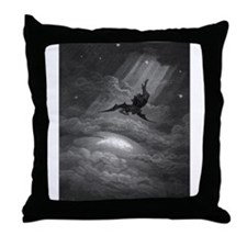 Cute Cherub Throw Pillow