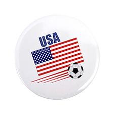 "USA Soccer Team 3.5"" Button (100 pack)"