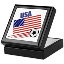 USA Soccer Team Keepsake Box