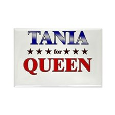 TANIA for queen Rectangle Magnet