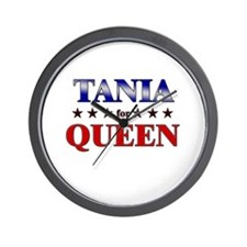 TANIA for queen Wall Clock