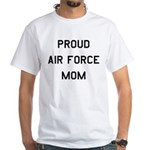 Air Force Mom White T-Shirt