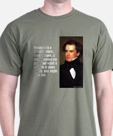 """Hawthorne """"Happiness Is"""" T-Shirt"""