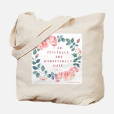 Fearfully & wonderfully made Tote Bag