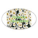 Master Gardener Oval Sticker