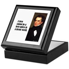 "Hawthorne ""A Hero"" Keepsake Box"