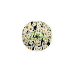 Head Gardener Mini Button