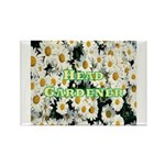 Head Gardener Rectangle Magnet (100 pack)