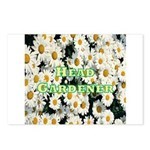 Head Gardener Postcards (Package of 8)