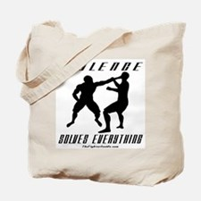 Violence Solves Everything w/ Tote Bag