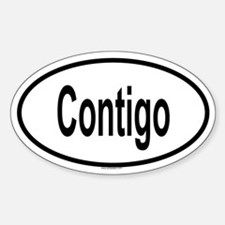 CONTIGO Oval Decal