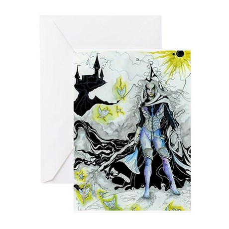 Elven Wizard Greeting Cards (Pk of 20)