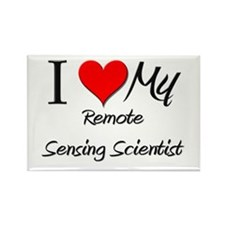 I Heart My Remote Sensing Scientist Rectangle Magn
